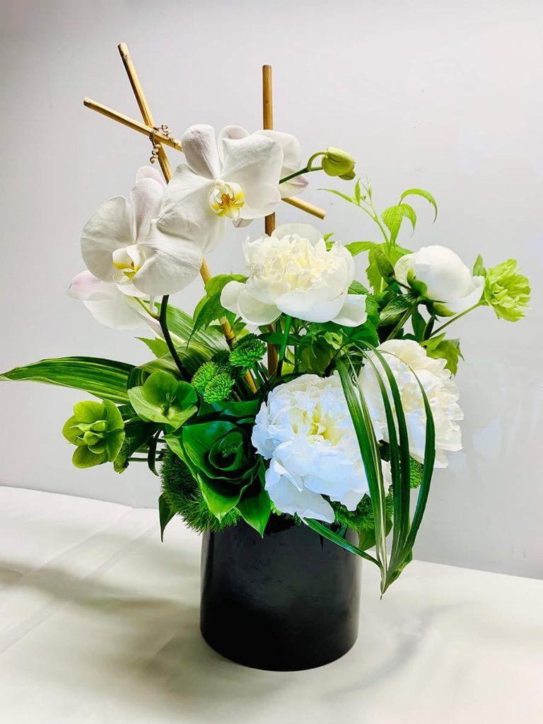congratulation, congrats, peony, helleborus, orchid, phalaenopsis, mum